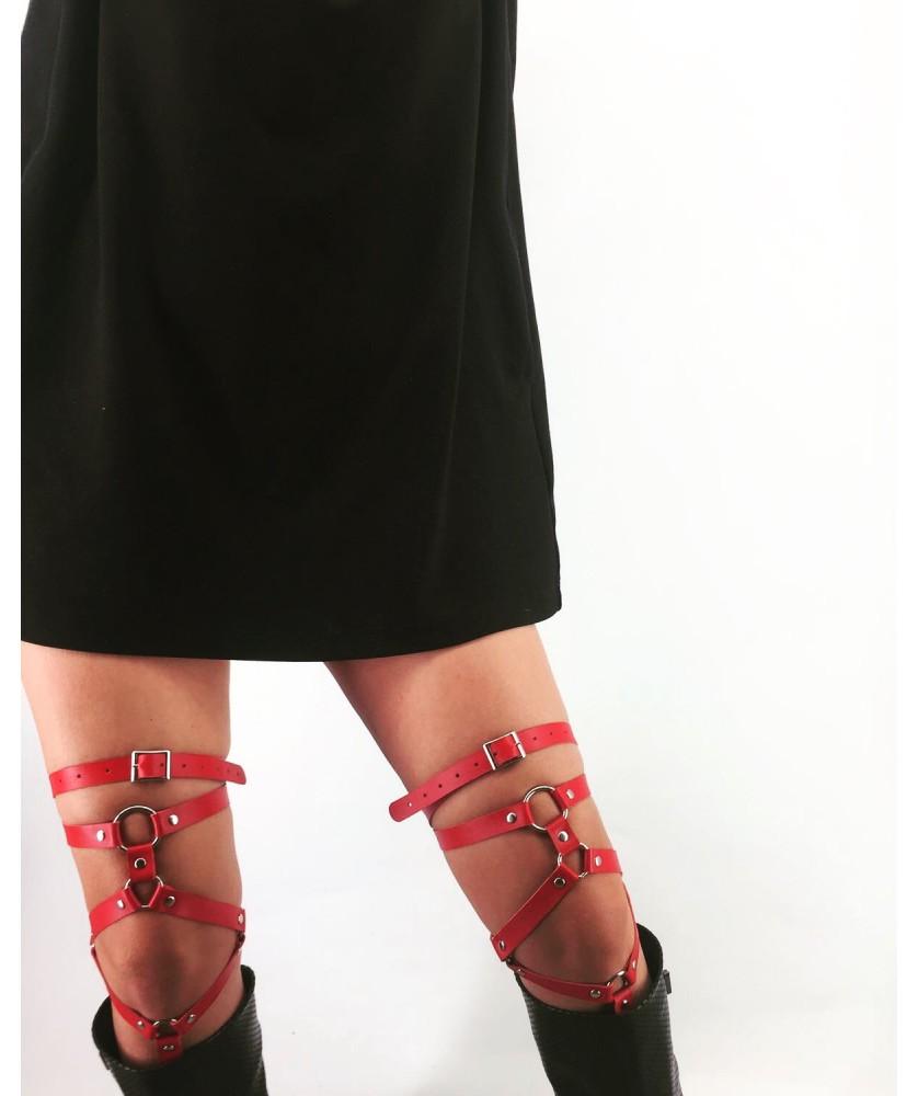 Accesorii pentru picioare din piele p6
